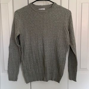 Kim Rogers Women's Cable Knit Sweater Size S
